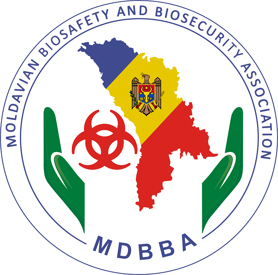 MDBBA - MOLDAVIAN ASSOCIATION OF BIOSAFETY AND BIOSECURITY Logo