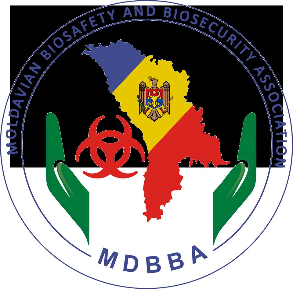 MDBBA - ASOCIAȚIA DE BIOSIGURANȚĂ ȘI BIOSECURITATE DIN REPUBLICA MOLDOVA Logo