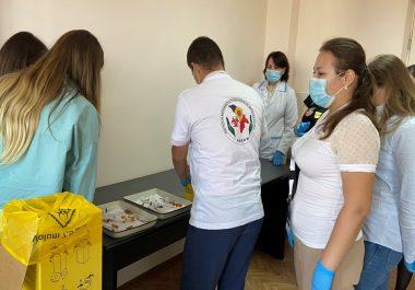 """Workshop """"Managementul deșeurilor rezultate din activitatea medicală""""."""