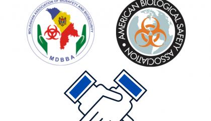 Afilierea ABBRM  la   Asociația Americană pentru Biosiguranță și Biosecuritate